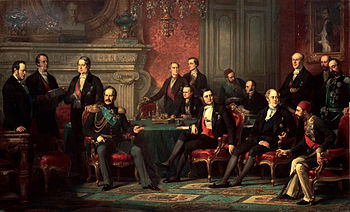 Source: https://en.wikipedia.org/wiki/Treaty_of_Paris_(1856)#/media/File:Edouard_Dubufe_Congr%C3%A8s_de_Paris.jpg